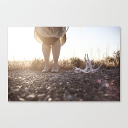 The Work of Something Found Canvas Print