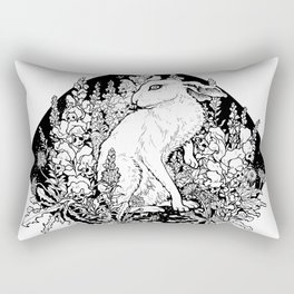 Snapdragon and the Hare Rectangular Pillow
