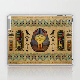 Egyptian Sphinx Ornament on papyrus Laptop & iPad Skin