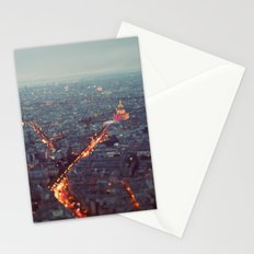 Blue Hour in Paris. Stationery Cards