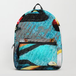 Billiard art and pool artwork 5 Backpack