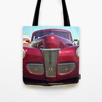 burgundy Tote Bags featuring Burgundy beauty by Vorona Photography