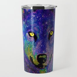 CELESTIAL WOLF Travel Mug