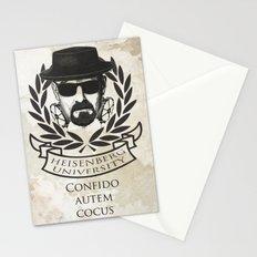 Heisenberg University Crest Stationery Cards