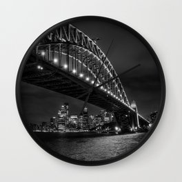Sydney Harbour Bridge Wall Clock