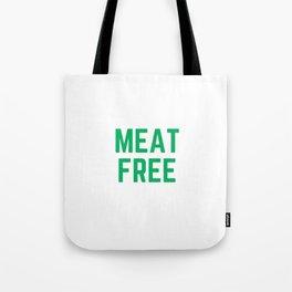 MEAT FREE Tote Bag
