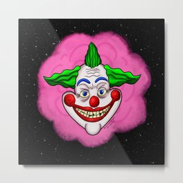 Killer Klown From Outer Space Metal Print