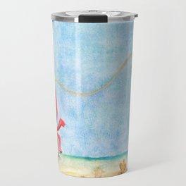 The E-Sea Life - Watercolor Travel Mug