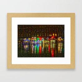Glasgow HDR Framed Art Print