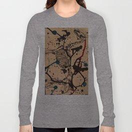Horse Skeleton Long Sleeve T-shirt