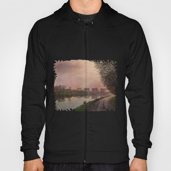 Fisherman (stylized watercolor) Hoody