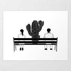 Loud Silence Between Us Art Print