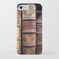 library iPhone & iPod Cases featuring Library by Mad Marys