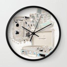 Hipster essentials Wall Clock