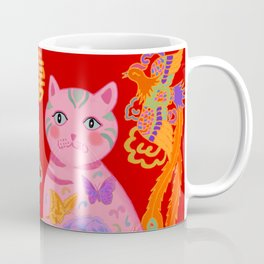 Double Happiness: When Ming Meets Qing Coffee Mug
