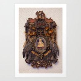 Gloria Mundi Memorial Art Print