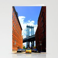 bridge Stationery Cards featuring Bridge by Brown Eyed Lady