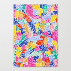 ANIMAL PUZZLE Canvas Print