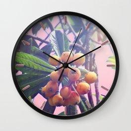 Loquat Wall Clock