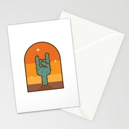 Rockin' Sunset Stationery Cards