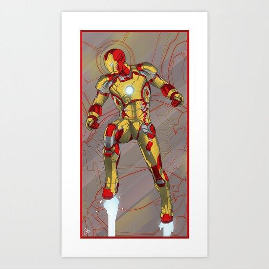 Mark XLVII  Art Print