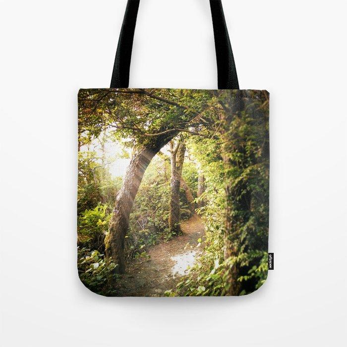 Sunlit Path Tote Bag