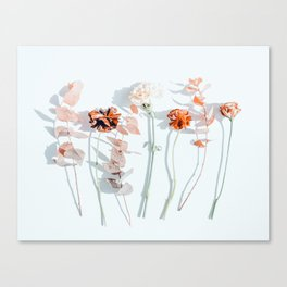 Minima #phoography #floral Canvas Print