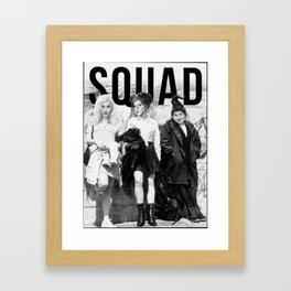 Squad Hocus Pocus for Halloween Framed Art Print