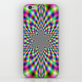 Neon Psychedelic iPhone Skin