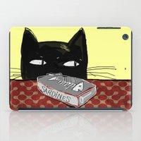 kitty iPad Cases featuring  Kitty by Mary Kilbreath