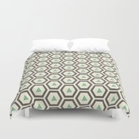 honeycomb Duvet Covers featuring Honeycomb by Tayler Willcox