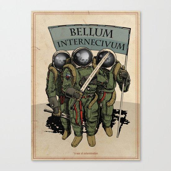A war of extermination - Bellum Internecivum Canvas Print