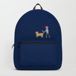 Walking dog Backpack