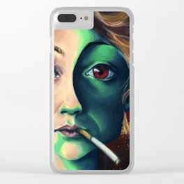 Sunset Blvd Clear iPhone Case