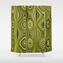 Electric Field Art XXXV Shower Curtain