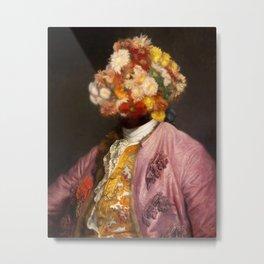 Flower Head Portrait I Metal Print