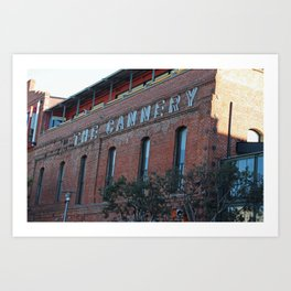 The Cannery Art Print
