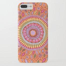 Pumpkin Bloom iPhone Case