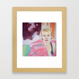 Ode to my mother Framed Art Print
