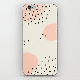 Spotted Pink iPhone Skin
