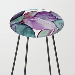 mystic eucalyptus leaves Counter Stool
