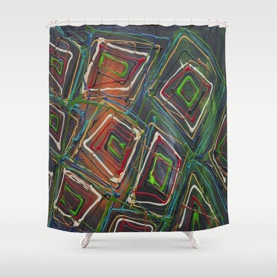 Kaleidescope Shower Curtain