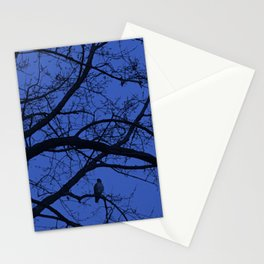 Hawk in Tree Stationery Cards