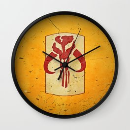 Mandalorian! (1 of 3) Wall Clock