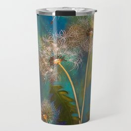Dandelion Wishes Travel Mug