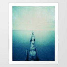 pinhole-ins 124, sea Art Print
