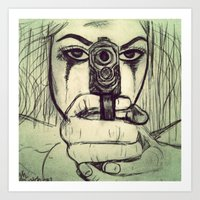 vendetta Art Prints featuring VENDETTA by INEVITABLE 27