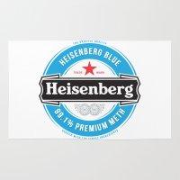heisenberg Area & Throw Rugs featuring Heisenberg by colourpie