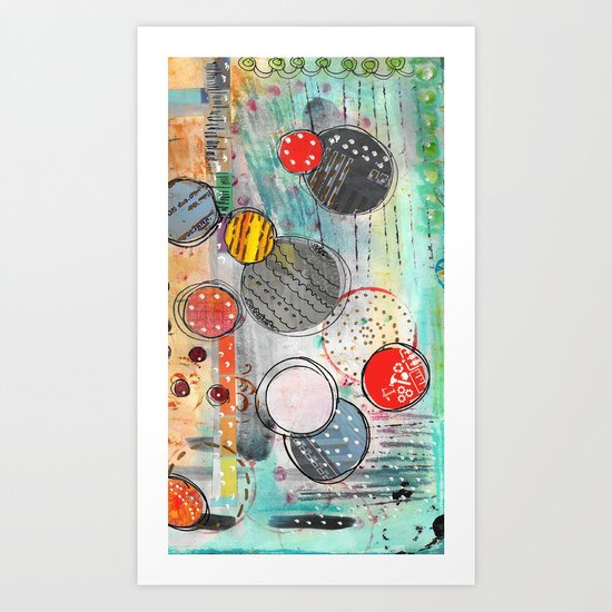 on this day Art Print