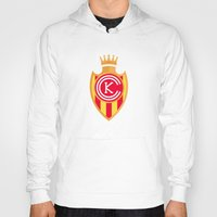 spanish Hoodies featuring KCFC (Spanish) by Football As Football